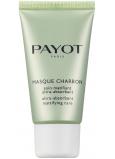 Payot Pate Gris Charbon Masque absorpčnej zmatňujúci čierna maska pre zmiešanú až mastnú pleť 50 ml