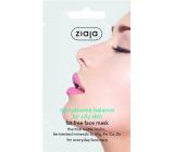 Ziaja Mikrobiome Balance Fat-free pleťová maska pre mastnú pleť 7 ml