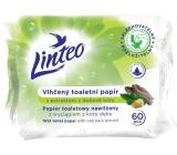 Linteo Satin vlhčený toaletní papír s dubovou kůrou 60 kusů