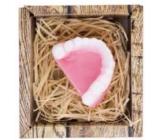 Bohemia Gifts & Cosmetics Natur Zuby ručně vyráběné toaletní mýdlo v krabičce 35 g
