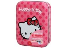 Hello Kitty Náplasti 20 kusov 4 druhy v kovovej krabičke