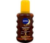 Nivea Sun OF6 Olej na opalování ve spreji 200 ml