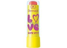 Dermacol Love Lips SPF15 balzám na rty 08 Peach 3,5 ml