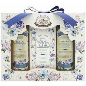 Bohemia Gifts & Cosmetics Blue Spa Mrtvé moře sprchový gel 100 ml + toaletní mýdlo 100 g + vlasový šampon 100 ml