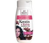Bione Cosmetics Bio Keratin + Kofein Regenerační kondicionér na vlasy 250 ml