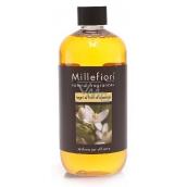 Millefiori Natural Legni e Fiori d'Arancio - Dřevo a pomerančové květy Náplň difuzéru pro vonná stébla 500 ml