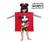 Pončo Minnie osuška s kapucňou - Cca. rozmery: 60 x 120 cm