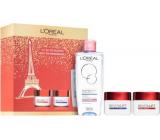 Loreal Paris Revitalift denný krém 50 ml + nočný krém 50 ml + micelárna voda pre normálnu až suchú, citlivú pleť 200 ml, kozmetická sada
