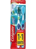 Colgate 360° Whole Mouth Clean měkký zubní kartáček 1 + 1 ks