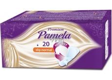 Pamela Premium Slip Normal Soft Dry intimní slipové vložky 20 kusů