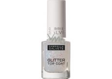 Gabriella Salvete Glitter Top Coat krycí lak na nehty 17 Transparent 11 ml