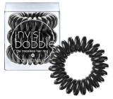 Invisibobble Original True Black Gumička do vlasů černá spirálová 3 kusy