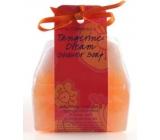 Bomb Cosmetics Mandarinkové sny - Tangerine Dream Sprchové masážní mýdlo 140 g