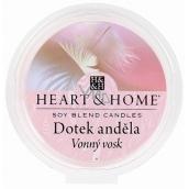 Heart & Home Dotyk anjela Sójový prírodný voňavý vosk 27 g