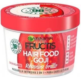 Garnier Fructis Goji Hair Food maska navracející lesk barveným vlasům 390 ml