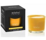 Millefiori Natural Legni e Fiori d'Arancio - Dřevo a pomerančové květy Vonná svíčka 180 g