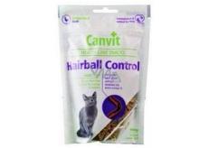 Canvit Hairball Controlkuřecí maškrtu mäkký doplnkové krmivo pre mačky 100 g