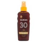 Nubian OF30 Vodeodolný olej na opaľovanie 150 ml sprej