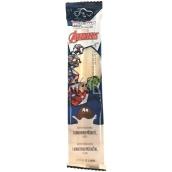 Marvel Avengers MilkiMix mliečne slamku zmes na prípravu nápoja s príchuťou kokosu 5 slamiek po 30 g