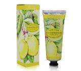 English Soap Citron & Mandarinka luxusný krém na ruky s vitamínom E a včelím voskom 75 ml