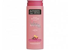 Authentic Toya Aróma Cranberries & Nectarine pena do kúpeľa 600 ml