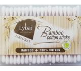 Lybar Original Natural Bamboo bambusové vatové tyčinky krabička 200 kusov