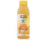 Garnier Fructis Nourishing Banana Hair Food vyživujúci šampón pre suché vlasy 350 ml