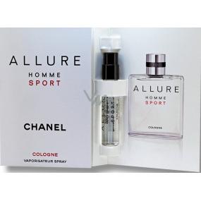 Chanel Allure Homme Sport Cologne kolínska voda 1,5 ml s rozprašovačom, vialka
