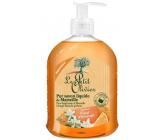 Le Petit Olivier Pomarančový kvet tekuté mydlo dávkovač 300 ml