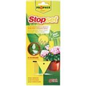 Propher Stopset lepové šipky žluté k odchytu létajícího hmyzu 5 kusů