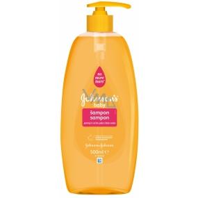 Johnsons Baby Šampon s pumpičkou pro děti 500 ml