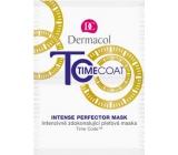Dermacol Time Coat Face Mask intenzívne zdokonaľujúce pleťová maska 2 x 8 ml