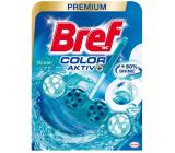 Bref Color Aktiv Ocean WC blok na hygienickú čistotu a sviežosť Vašej toalety, obarvuje vodu do tyrkysového odtieňa 50 g