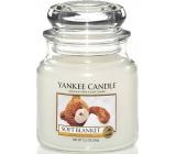 Yankee Candle Soft Blanket - Jemná prikrývka vonná sviečka Classic strednej sklo 411 g