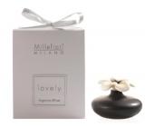 Millefiori Lovely Difuzér kvetina mini čierna