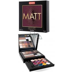 Pupa Pupart M Matt Make-up kazeta pre líčenie očí, pier a tváre 001 Velvet Mood 22 g