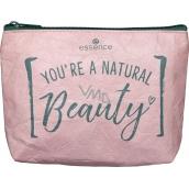 Essence Natural Beauty Make-up Bag taštička na make-up 20 x 14 x 4 cm