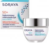 Soraya Hyaluronic Micro-Injection Duo Forte 50+ krém proti vráskam vypĺňajúci trvalé vrásky na deň / noc 50 ml