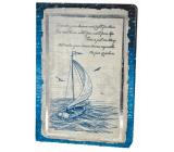 Ditipo Denník Antique plachetnice A5 15 x 21 cm