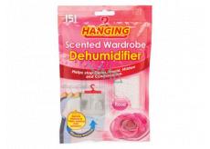 151 Hanging Ruže Odstraňovač vlhkosti do šatne s vôňou 180 g