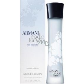 Giorgio Armani Code Luna toaletná voda pre ženy 75 ml