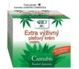 Bione Cosmetics Cannabis s peptidy Extra výživný pleťový krém 51 ml