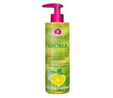 Dermacol Aroma Ritual Rozpustilý citron Vzpružující mýdlo na ruce 250 ml