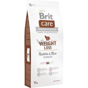 Brit Care Weight Loss Králík a rýže prémiové krmivo pro psy všech plemen 12 kg
