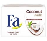 Fa Coconut Milk toaletné mydlo 90 g