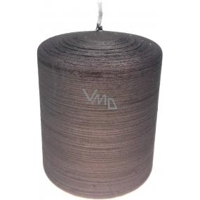 Lima Alfa sviečka svetlo hnedá valec 80 x 100 mm 1 kus