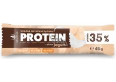 Allnature Proteinová tyčinka 35% Jogurtová 45 g