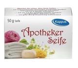 Kappus Apotheker lékařské velmi jemné toaletní mýdlo 50 g