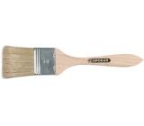 Spokar Štětec plochý zahlazovák, dřevěné držadlo, čistá štětina, tloušťka 6 mm číslo 2