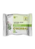 O Herbal Natural Verbena a zelená hlina prírodné toaletné mydlo 100 g